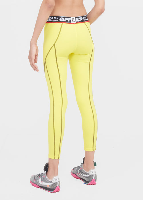 NIKE X OFF-WHITE: WOMEN'S TIGHTS [YELLOW]