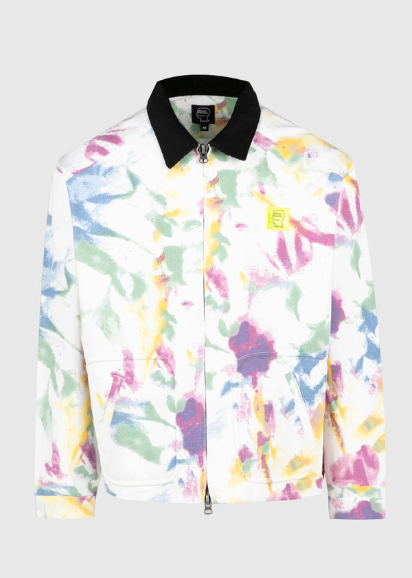 BRAINDEAD: CONTRAST CORD COLLAR JACKET [MULTICOLOR]