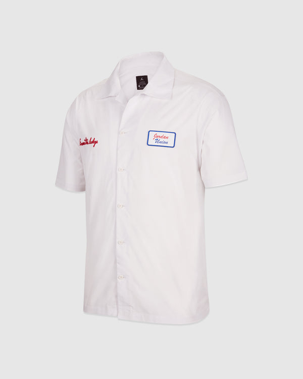 JORDAN: JORDAN X UNION BUTTON DOWN SHIRT [WHITE]