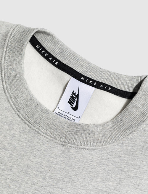 KIM JONES FLEECE CREWNECK IN GREY