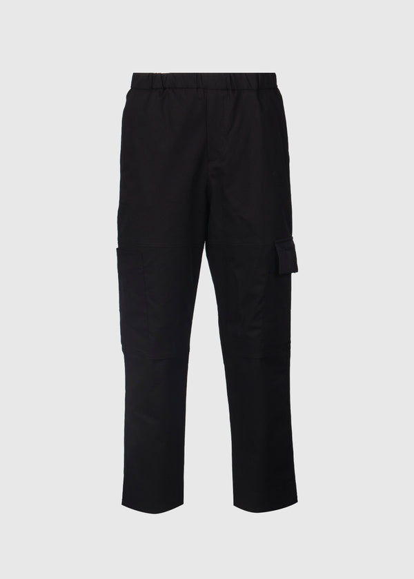 KENZO: TAPERED CARGO PANT [BLACK]
