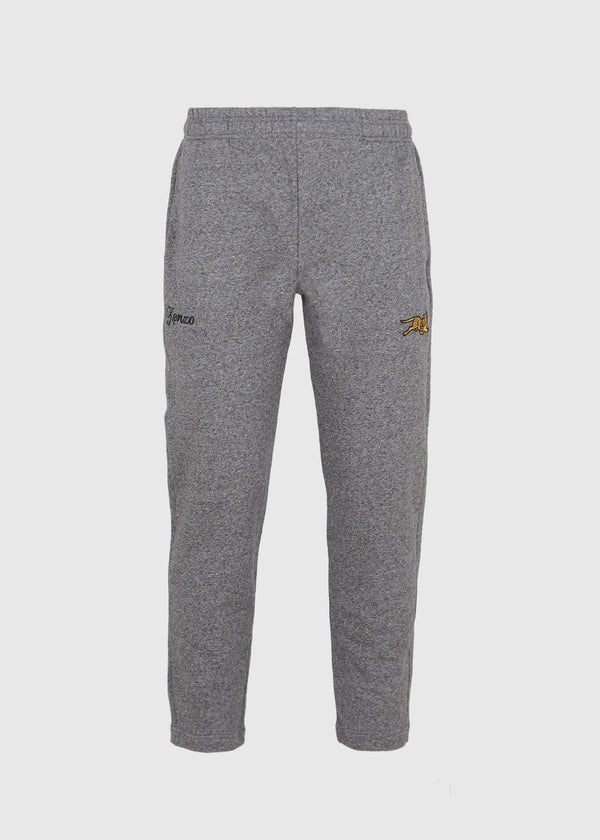 KENZO: TIGER TAPERED SWEATPANT [GREY]