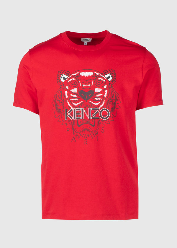 KENZO: CLASSIC TIGER TEE [RED]