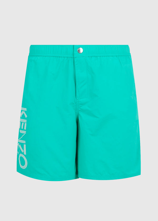 KENZO: PARIS SWIM TRUNK [GREEN]