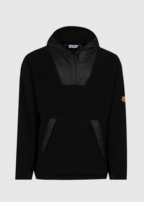 KENZO: FLEECE JACKET [BLACK]