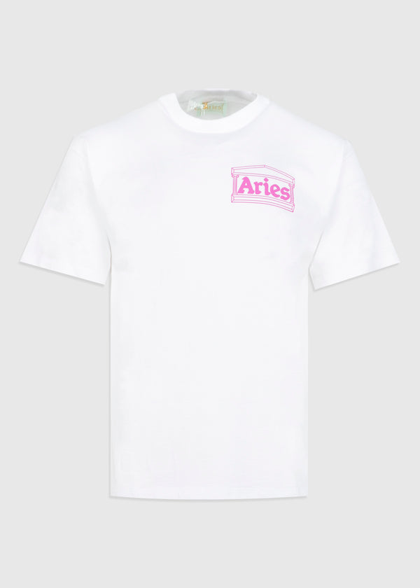 ARIES: TEMPLE SS TEE [WHITE]