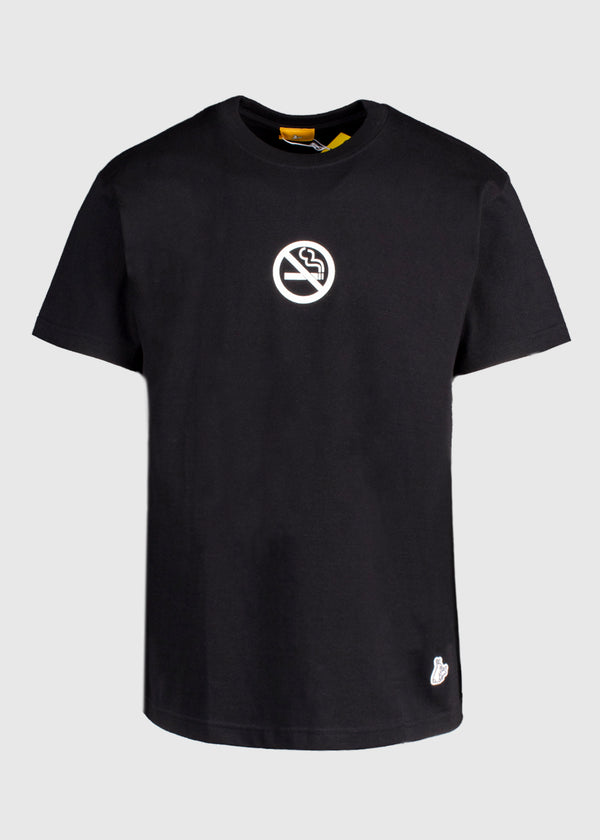 FUXXKING RABBITS: NO SMOKING KILLS TEE [BLACK]