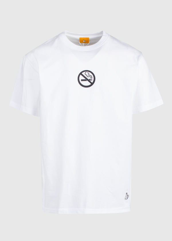 FXXKING RABBITS: NO SMOKING KILLS TEE [WHITE]