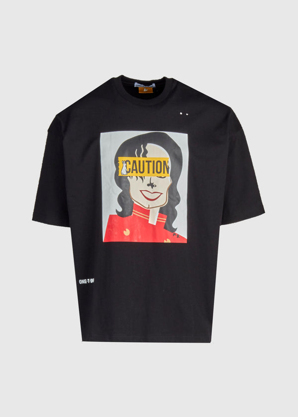 FXXCKING RABBITS: MJ TEE [BLACK]