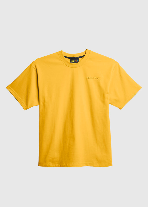 ADIDAS X PHARRELL WILLIAMS: BASICS TEE [YELLOW]