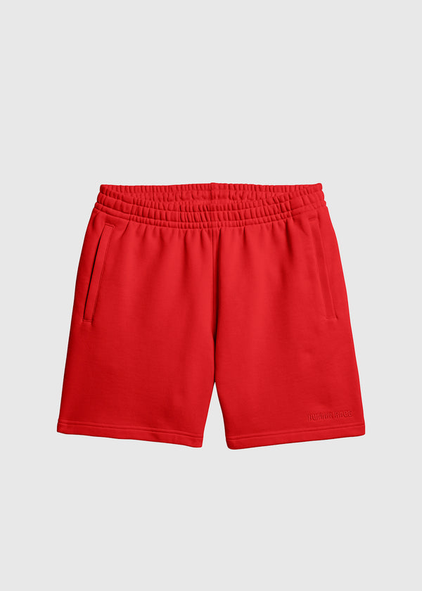 ADIDAS X PHARRELL WILLIAMS: BASICS SHORTS [RED]