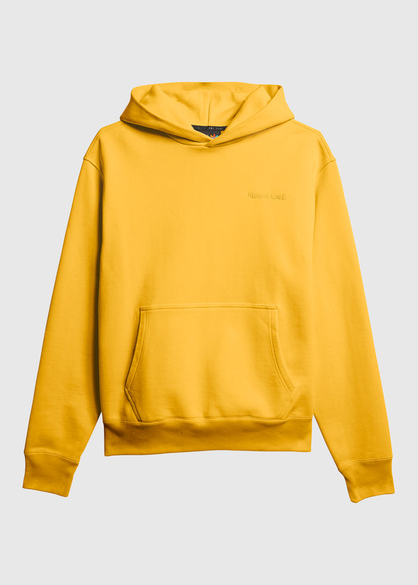 ADIDAS X PHARRELL WILLIAMS: BASICS HOODIE [GOLD]
