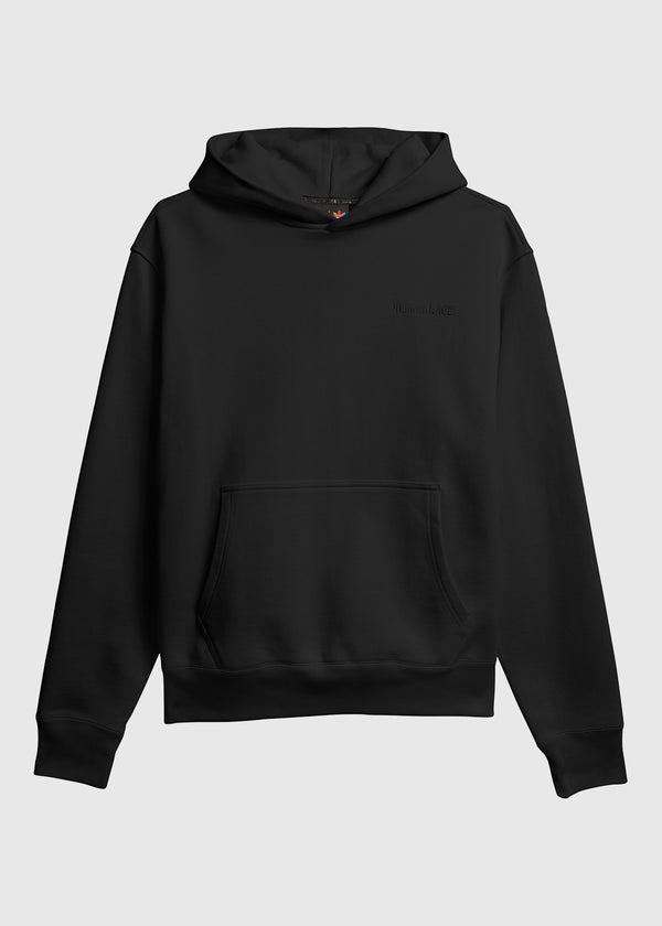 ADIDAS X PHARRELL WILLIAMS: BASICS HOODIE [BLACK]