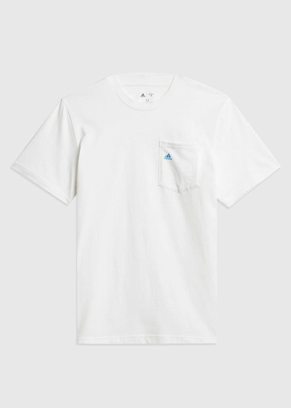 ADIDAS X NOAH: POCKET TEE [WHITE]
