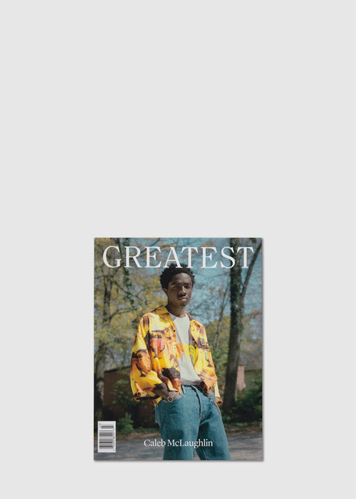 GOAT GREATEST MAGAZINE: ISSUE 3 [CALAB MCLAUGHLIN]