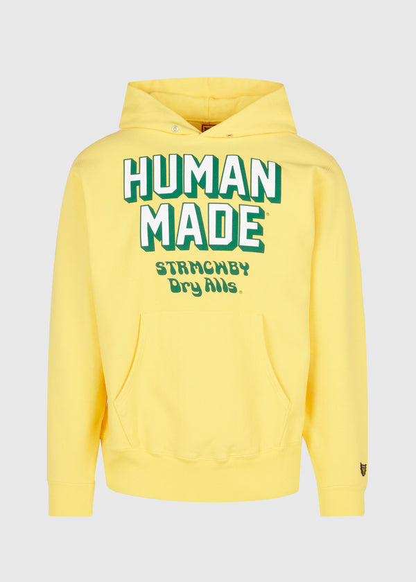 HUMAN MADE: PIZZA HOODIE [YELLOW]