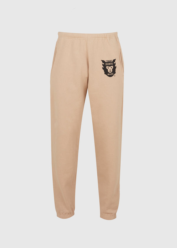 HUMAN MADE: SWEATPANTS [BEIGE]