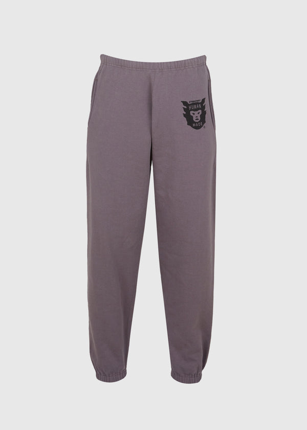 HUMAN MADE: SWEATPANTS [GREY]