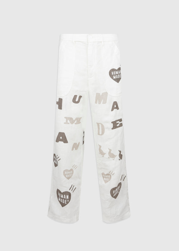 HUMAN MADE: DECK PANTS [WHITE]
