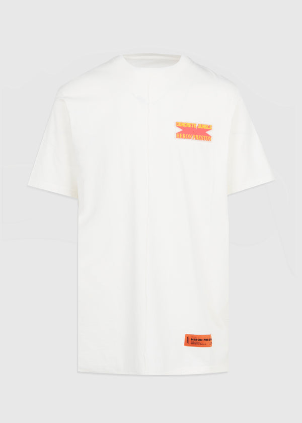 HERON PRESTON: CONCRETE JUNGLE TEE [WHITE]