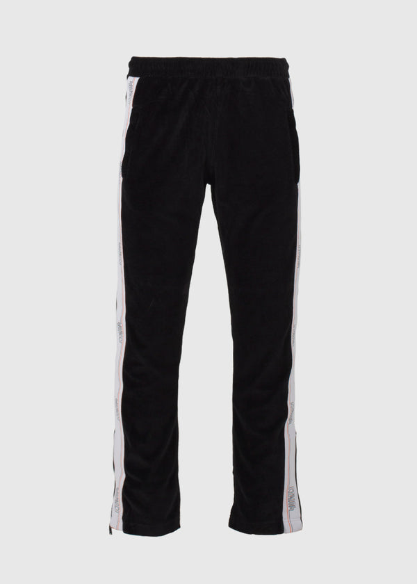 HERON PRESTON: HERON TAPE TRACKPANTS [BLACK]