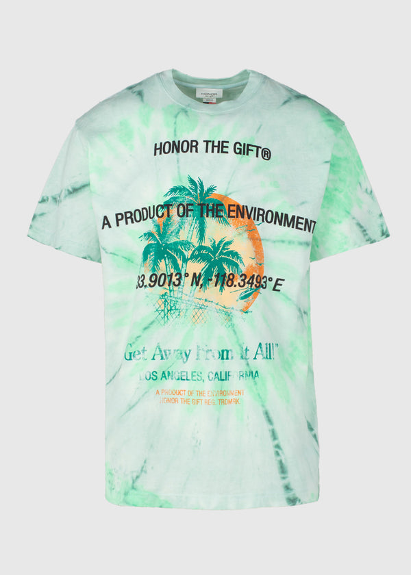 HONOR THE GIFT: HEATWAVE SS TEE [GREEN]