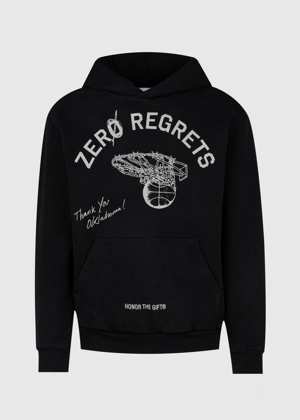 HONOR THE GIFT: ZERO REGRET HOODIE [BLACK]
