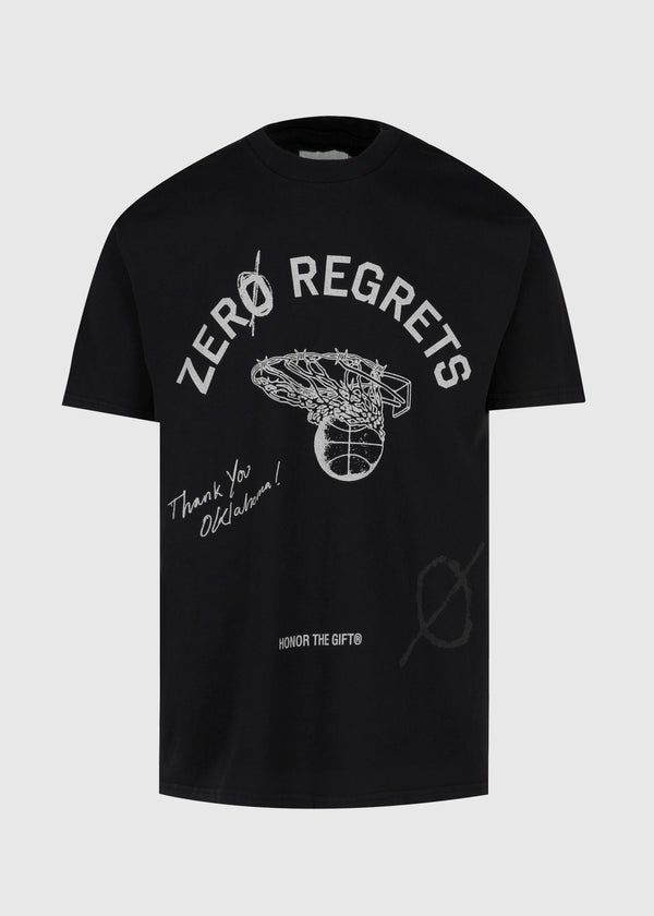 HONOR THE GIFT: ZERO REGRET TEE [BLACK]