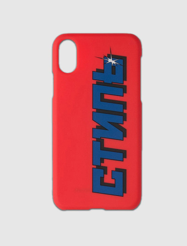 HERON PRESTON: CTNMB IPHONE X CASE [RED]