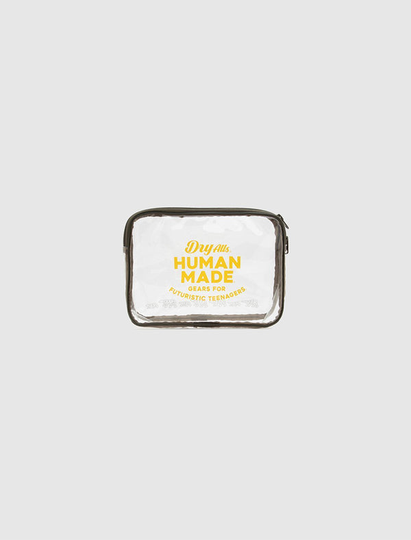 HUMAN MADE: SMALL PVC POUCH [CLEAR]