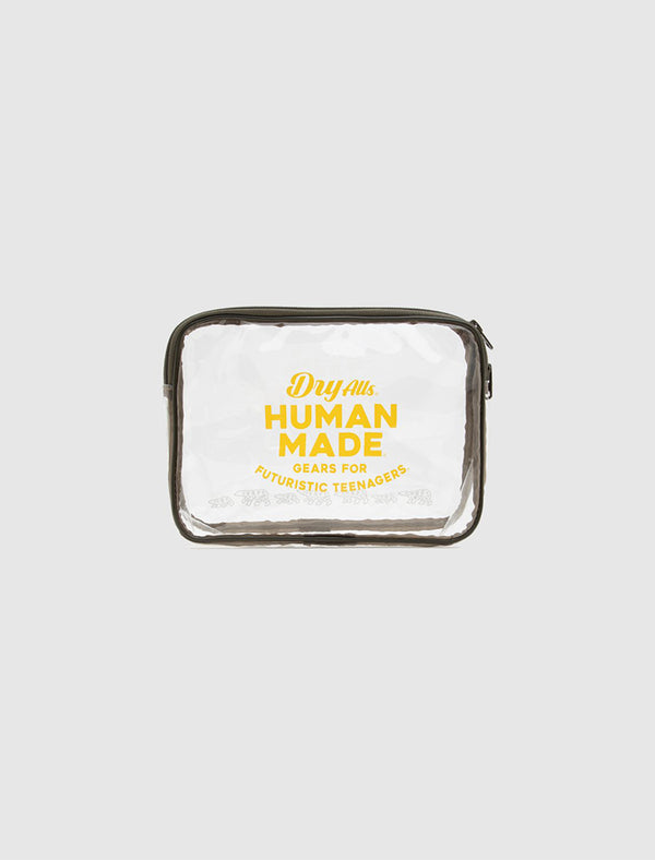 HUMAN MADE: MEDIUM PVC POUCH [CLEAR]