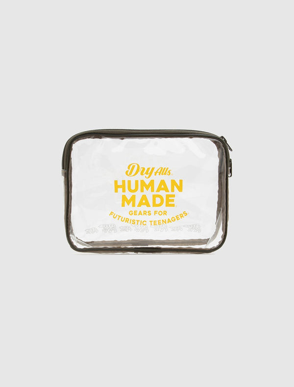 HUMAN MADE: LARGE PVC POUCH [CLEAR]