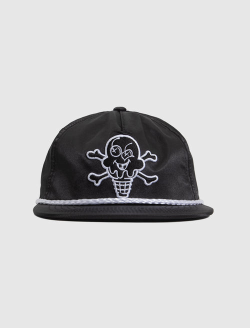 ICE CREAM: CONES SNAPBACK HAT [BLACK]