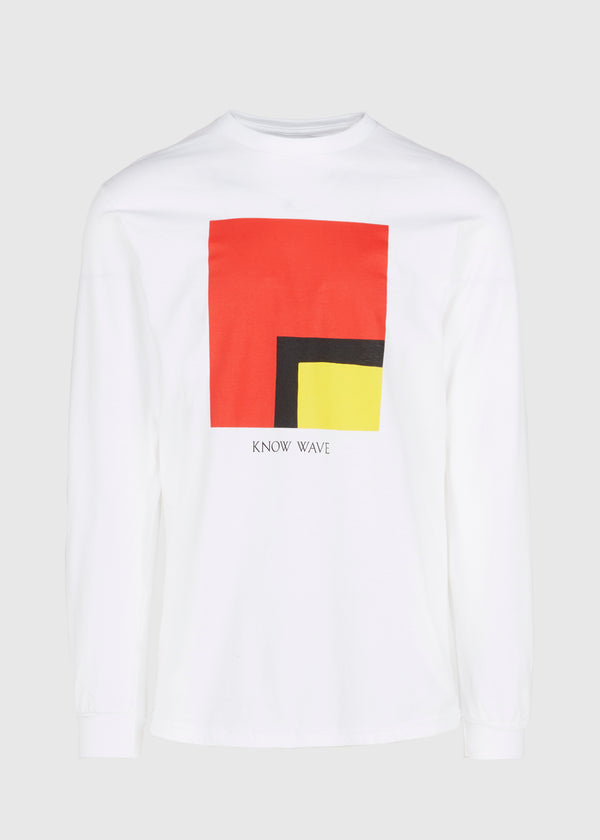 KNOW WAVE: AN L'S WORTH TEE [WHITE]