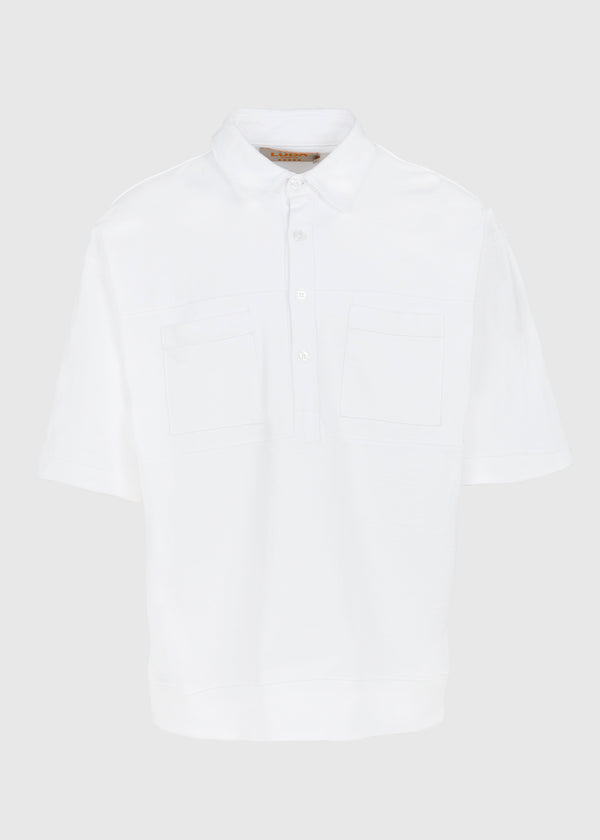 LUDA KHANLARI: LEAGUE SS HENLEY [WHITE]