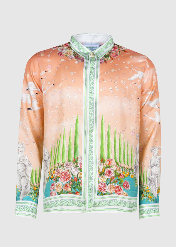 CASABLANCA: SILK SHIRT [MULTI]