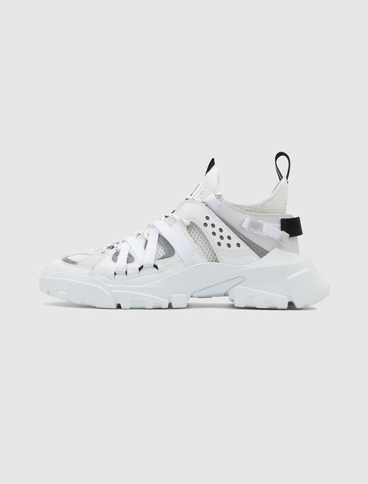 MCQ: DESCENDER SNEAKER [WHITE]