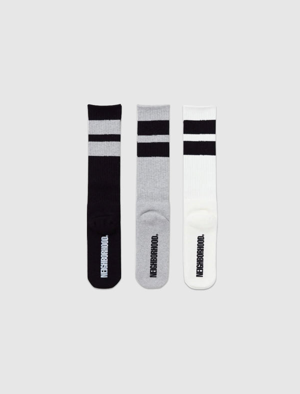 3 PACK LONG SOCKS