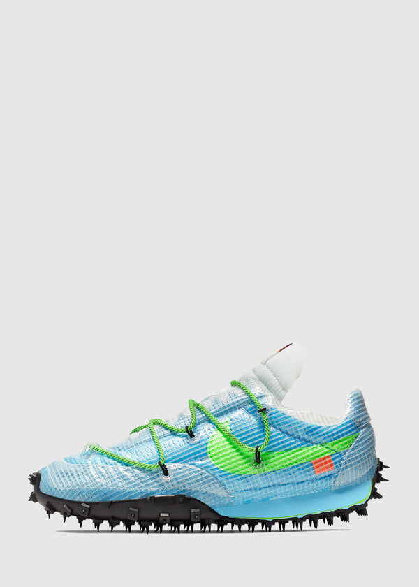 NIKE X OFF-WHITE: WOMENS WAFFLE RACER [BLUE]