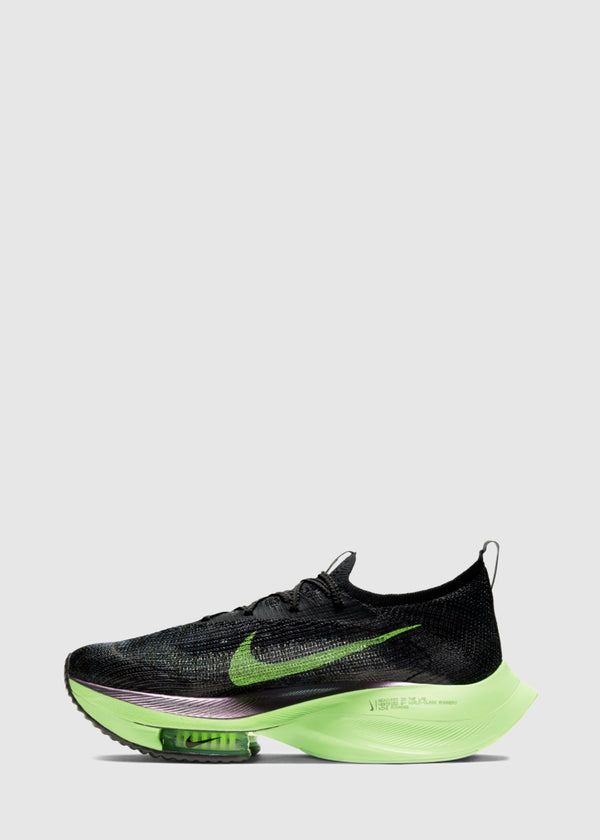 NIKE: AIR ZOOM ALPHAFLY NEXT% [BLACK]
