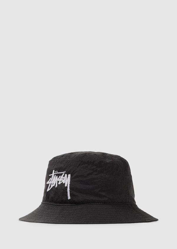 NIKE X STUSSY: BUCKET HAT [BLACK]