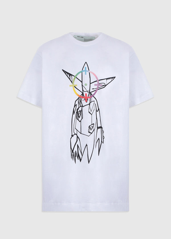 OFF-WHITE FUTURA ALIEN TEE [WHITE]