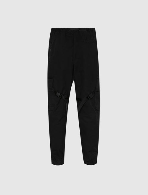 OFF-WHITE: CARGO PANTS [BLACK]
