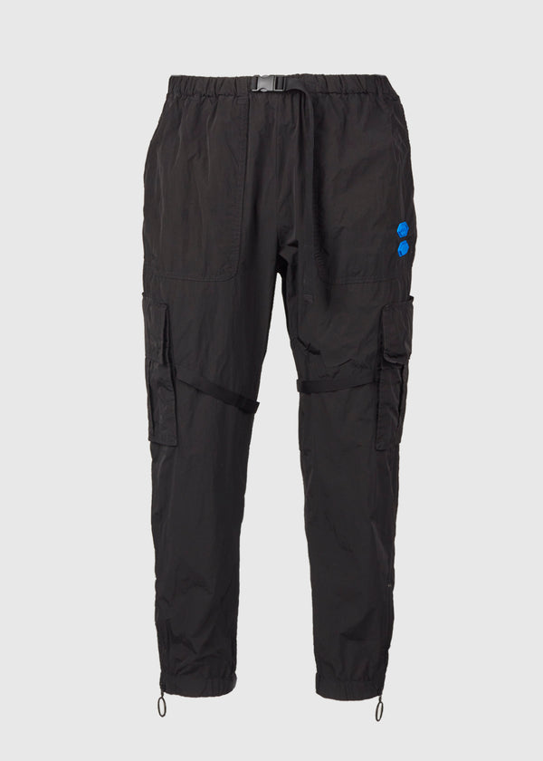 OFF-WHITE: PARACHUTE CARGO PANT [BLACK]