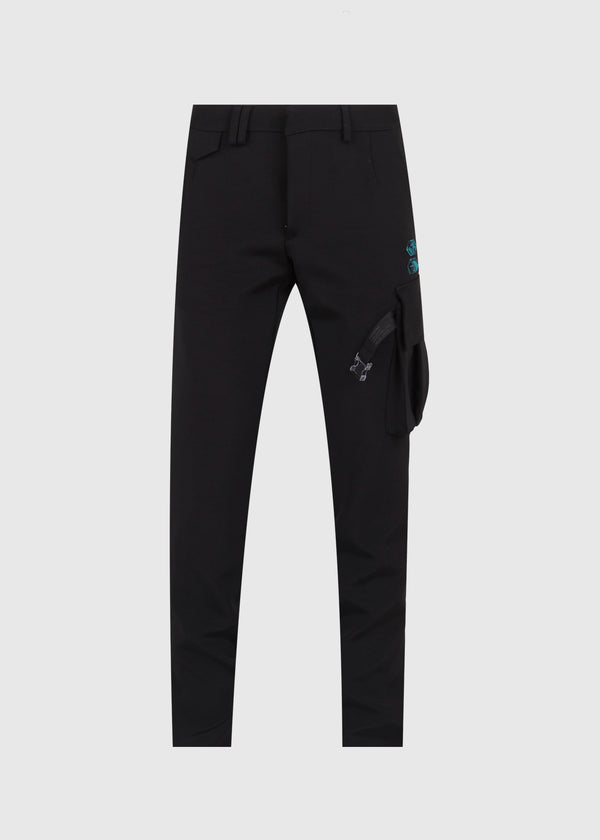 OFF-WHITE: FORMAL CARGO PANTS [BLACK]
