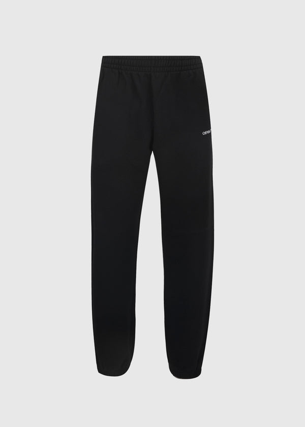 OFF-WHITE: CARAVAG SWEATPANTS [BLACK]