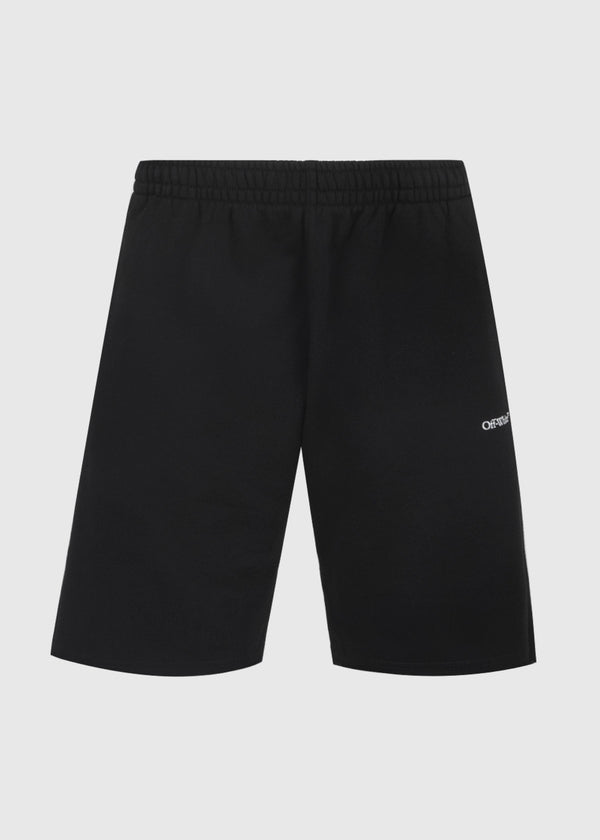 OFF-WHITE: CARAVAG SWEATSHORTS [BLACK]