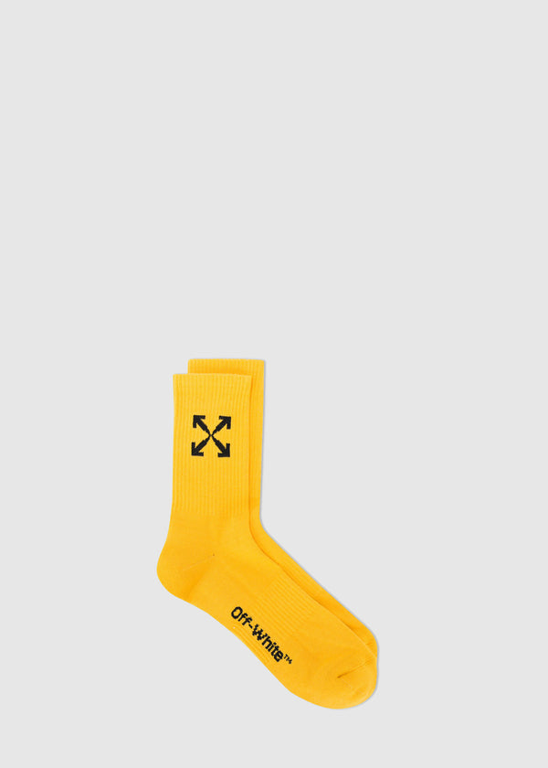 OFF-WHITE: SOCKS [YELLOW]