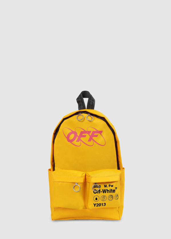 OFF-WHITE: INDUSTRIAL BACKPACK [YELLOW]