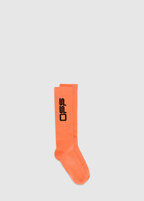OFF-WHITE: LONG SOCKS [ORANGE]